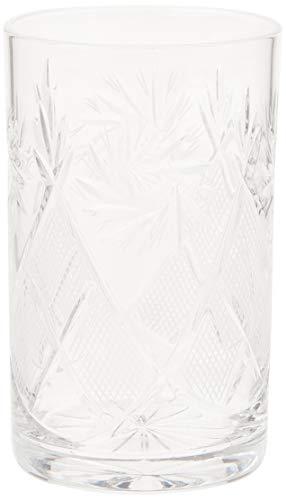 Set von 6njoman glasbläsereien, 8-oz Hand Made Vintage Russian Kristall Tee Getränk Gläser für