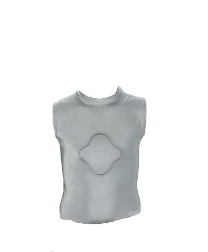 Markwort Adult Heart Gard Protective Body Shirt (Grey, Small)