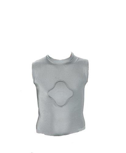 Markwort Adult Heart Gard Protective Body Shirt (Grey, X-Large)