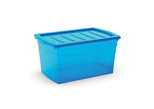 Kis Omnibox L - 58,5X39X30H Azzurro