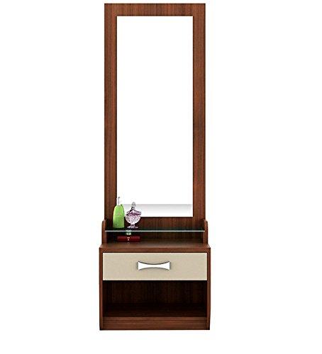 Natraj Office Furniture Dressing Table (Acacia Dark)
