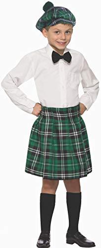 Forum Novelties Child's Laddie's Costume Kilt, One Size Green