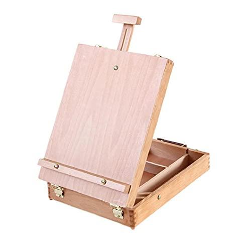Multifunctionele houten schetsende doos houten schildersezel draagbare reisset acryl verf set voor kunstenaars