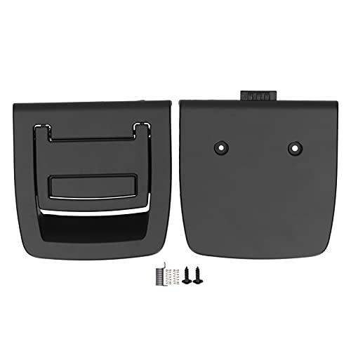 Mango de alfombrilla de maletero, 51479120283, ABS negro Interior de coche Mango de alfombrilla de maletero trasero apto para E70 X5 E71 X6 2006-2013