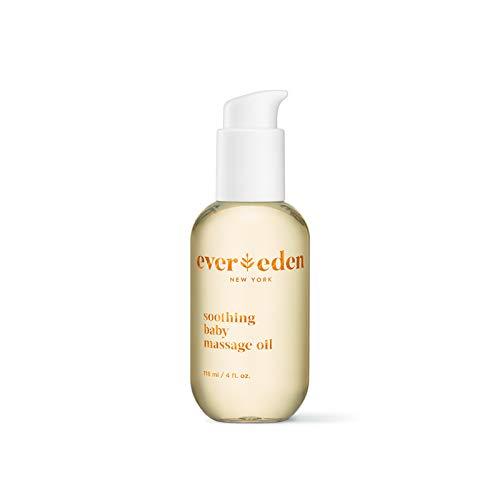 Evereden Soothing Baby Massage Oil, 4 fl oz. | Clean Baby...