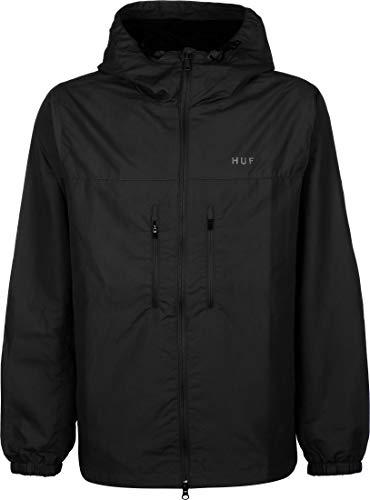 HUF Herren Jacke Essentials Zip Standard Shell Jacket