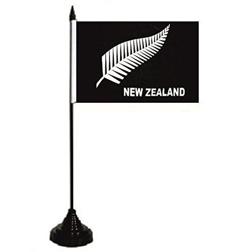 U24 Table Fougère Drapeau New Zealand Nouvelle-Zélande Drapeau Drapeau 10 x 15 cm