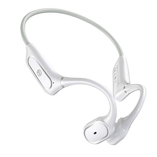 YUYDYU Auriculares Bluetooth 5.0 de conducción ósea Binaural Inalámbrico Auriculares A Prueba de Sudor IP55 Impermeable Auriculares Estéreo HiFi Bluetooth Auriculares, In-Ear Auriculares Deportivos