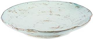 L'Oca 1M122 - Centro de mesa bajo de terracota, 38 x 6,5 cm, color negro