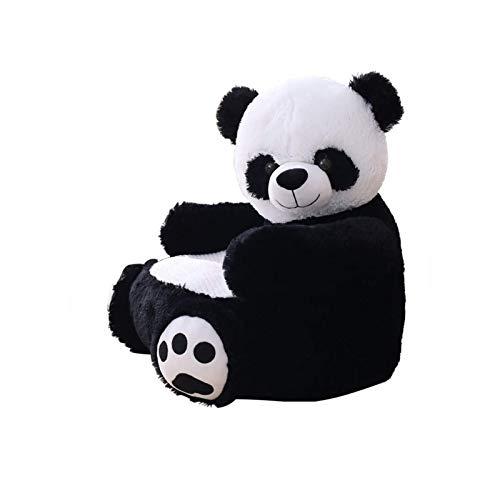 XIHEJD Cartoon Kinder Sofa, Kindersessel Kinder StoolKids Sitzsack □ Panda-Bären-Elefant Klassisches Spiel Kinderstühle Alter 3 Jahre + Sofa for Innen/Außen (Farbe : Panda)