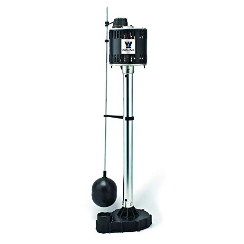 WaterAce WA50CPED Pedestal Pump, Black