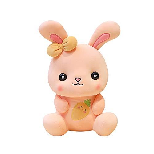 WNSS9 Bebé lindo del conejo de peluche rellenos muñeca suave de la felpa animal de juguete mimoso de la felpa juguetes de simulación realista del animal suave Playmat Ocio y Entretenimiento Peluches j