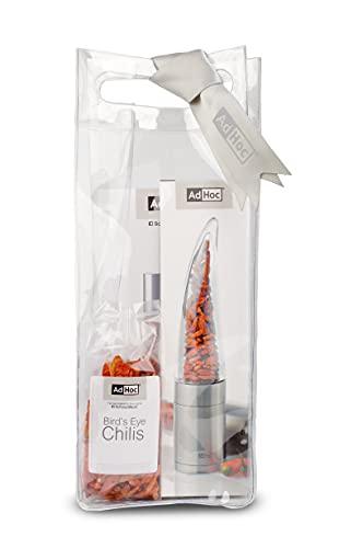 AdHoc X-MP203 Geschenkset inkl. Rezeptheft und 20gr Bird's Eye Chilis mit AdHoc Logo