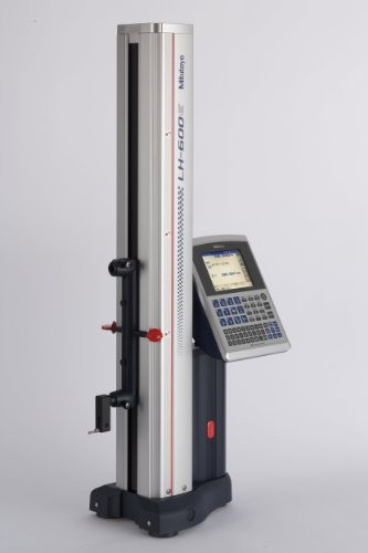 Mitutoyo 518-351A-21 Linear Height Gauge LH-600D High Performance 2D Measurement System, SPC Output, 24kg Mass