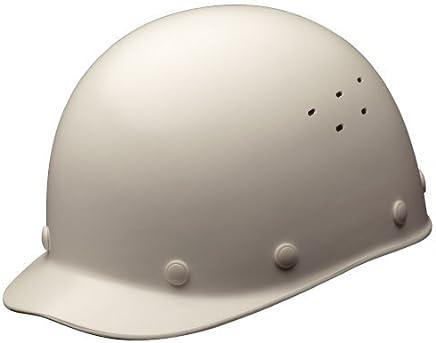 ミドリ安全 ヘルメット 一般作業用 熱場作業用 通気孔付 SCS1V RA KP付 ホワイト