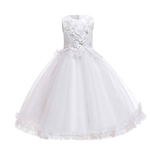 FYMNSI Trapecio o Corte en A Vestido Manga Larga para beb/é ni/ña