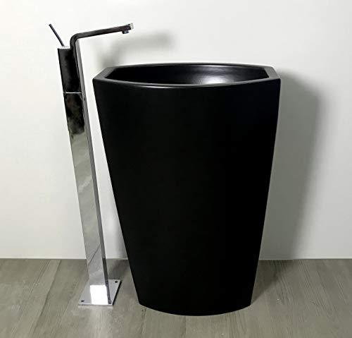 Generischer Waschbecken freistehend, Mattschwarz GSI