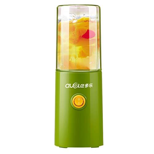 Creative Light- Presse-agrumes, mini-tasse de presse-agrumes électrique portable, presse-agrumes domestique, petit mélangeur de fruits et de légumes multifonction (Couleur : Green)