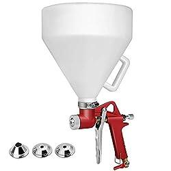 cheap Super Buy 1.45 Gallon Air Hopper Spray Gun Paint Tool Texture Dry Wall Wall Mount Spray Gun 3…