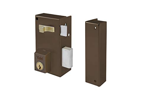 Yale 56AR60IHN - Cerradura de sobreponer estándar para puertas niquelado (entrada 35...