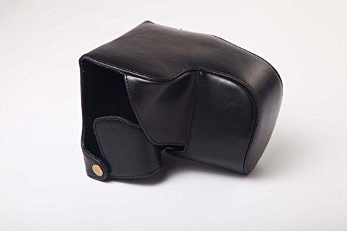 vhbw Bolsa Negra para cámaras fotográficas Panasonic Lumix DMC-FZ1000.