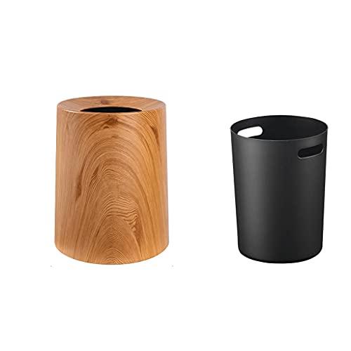 Cubo de Basura Basura de doble capa sin tapa adecuada para la sala de estar de la sala de estar de la sala de estar de la sala de estar de la caja de la cocina de la caja de la cocina para Cocina, Bañ