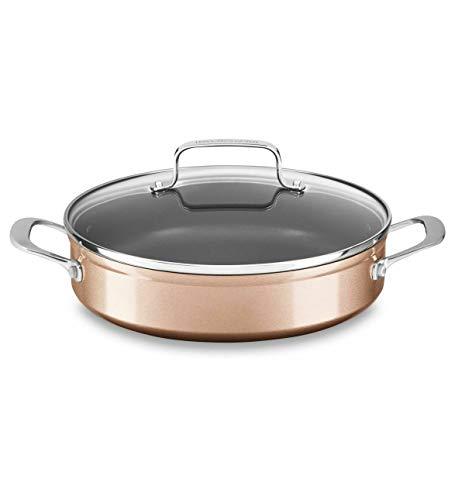 kitchenaid hard anodized saucepan - 8
