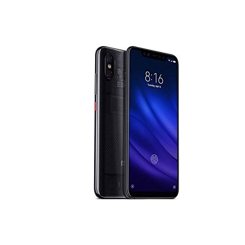 Xiaomi Mi 8 Plus with 8GB RAM and 128GB Storage 6.26-Inch Android 8.1 UK Version SIM-Free Smartphone - Transparent Titanium (Official UK Launch)