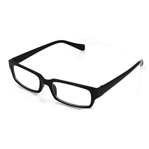 Basage Montura para Gafas negra plastica Transparente