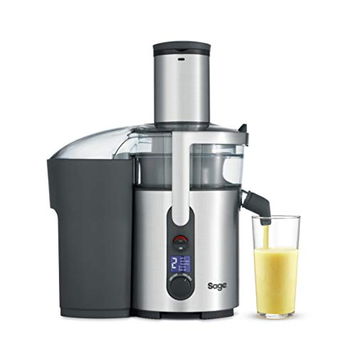Sage Appliances SJE520 the Nutri Juicer Plus, Entsafter, Gebürstetes Edelstahl