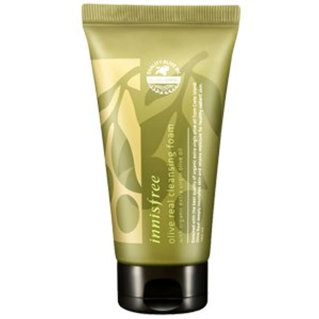 違反死んでいる工業化するinnisfree(イニスフリー) Olive real cleansing foam AD オリーブ リアル クレンジング フォーム 150ml
