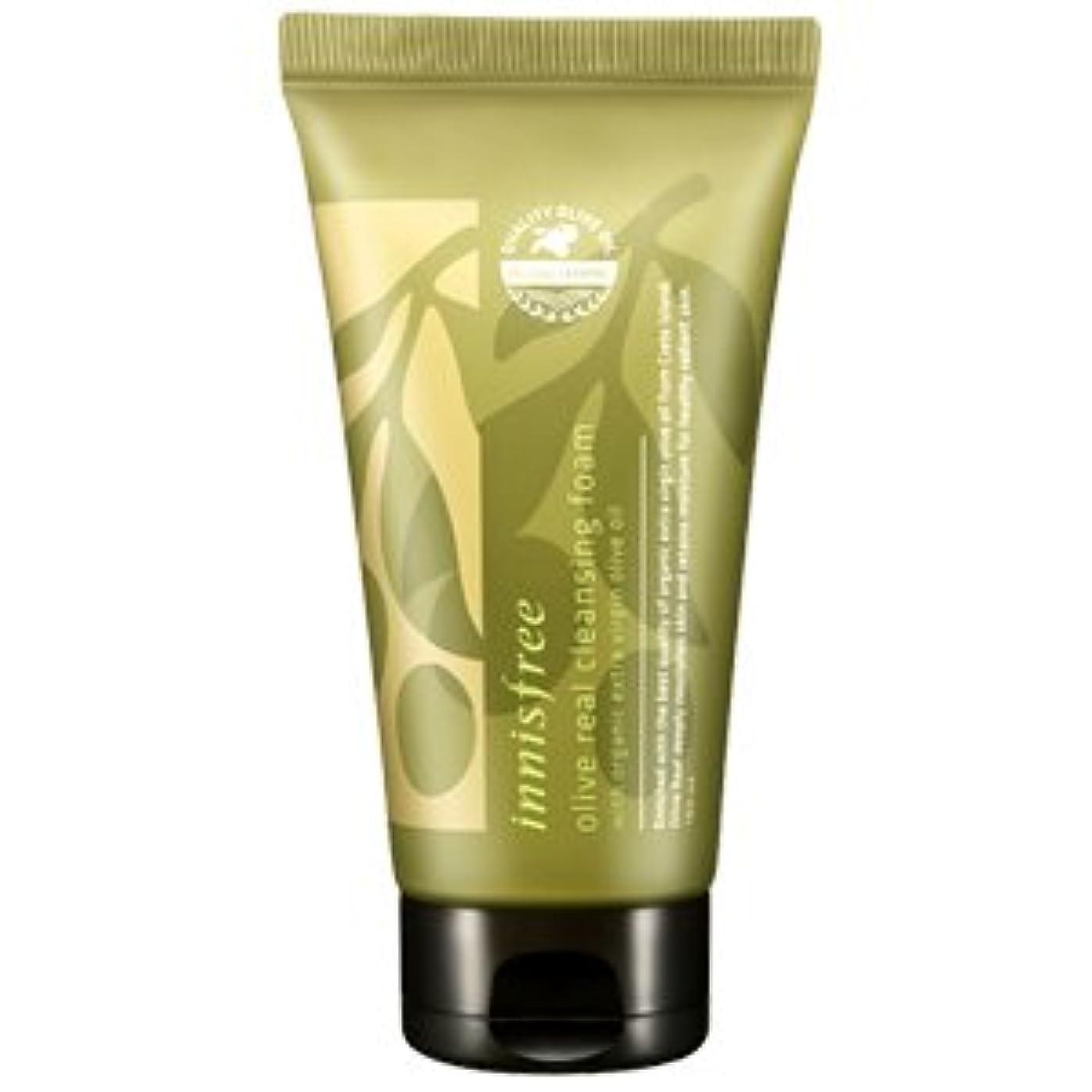 率直な腰小さいinnisfree(イニスフリー) Olive real cleansing foam AD オリーブ リアル クレンジング フォーム 150ml