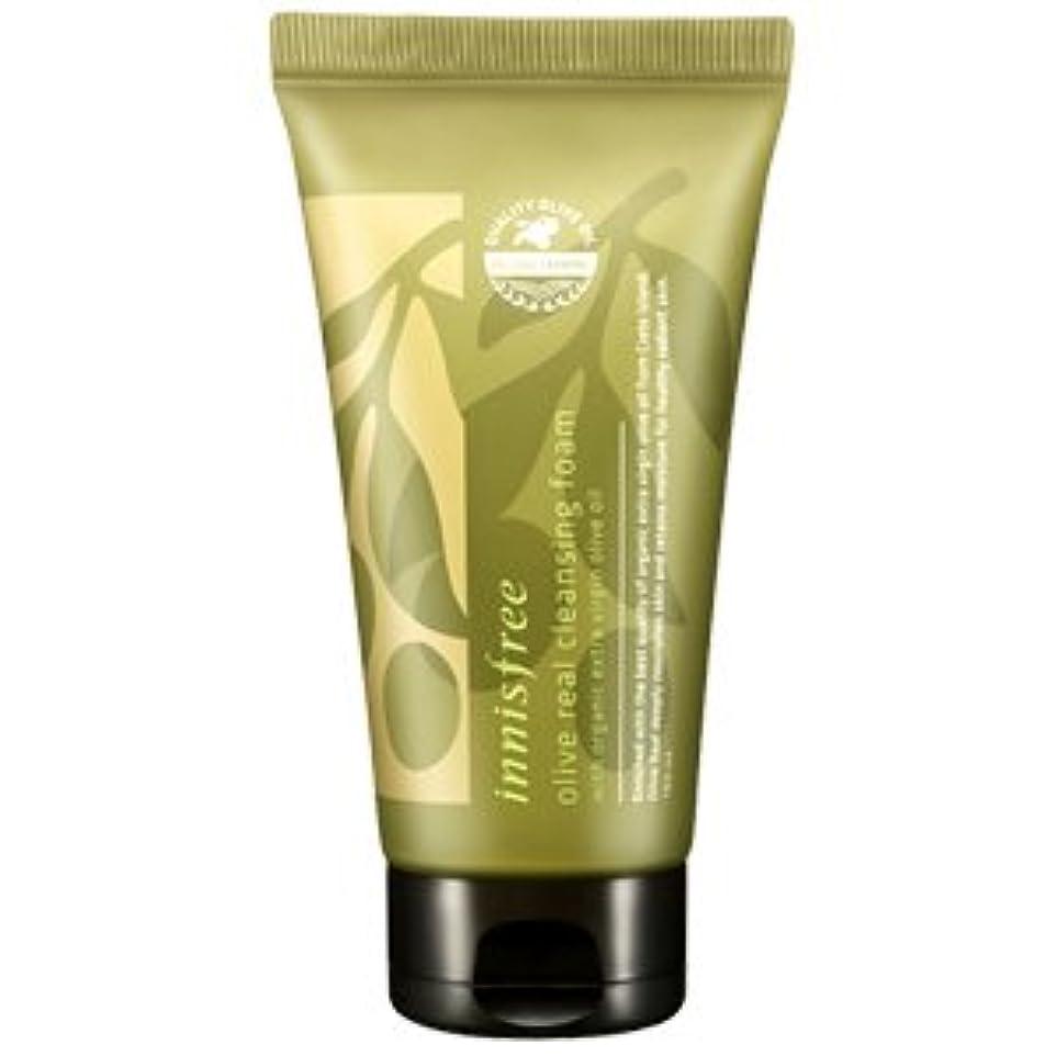 毎年鉛筆反対するinnisfree(イニスフリー) Olive real cleansing foam AD オリーブ リアル クレンジング フォーム 150ml