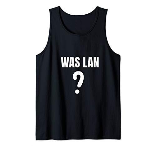 Was lan was? Tshirt Ghetto Slang Türkisch Amk Spruch Tank Top