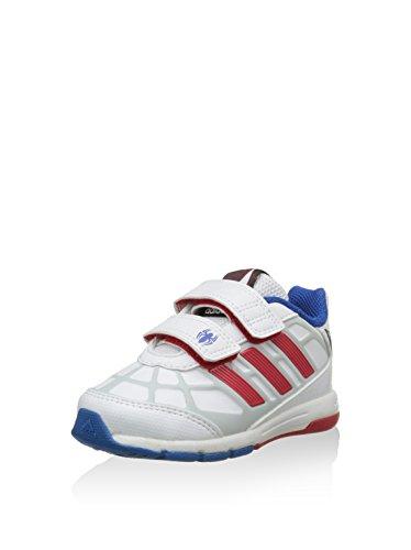 adidas Zapatillas Dy Spider-Man CF I Blanco/Azul/Rojo EU 19