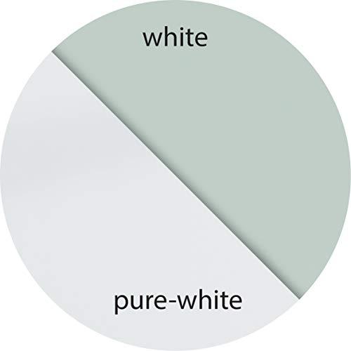 Be!Board B1300 Große Glas-Magnettafel / Whiteboard rein-weiß, 90 x 60 cm - 3