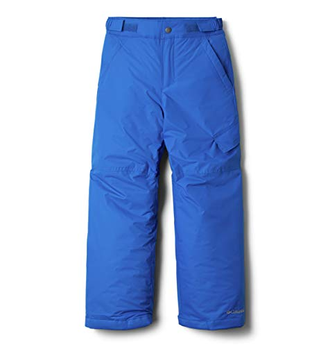 Columbia Garçon Pantalon de Ski Déperlant, Ice Slope II Pant, Nylon, Bleu (Super Blue), Taille XL, 1523671