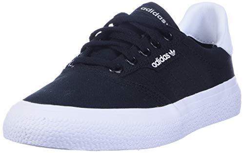 adidas Originals Men's 3MC Regular Fit Lifestyle Skate Inspired Sneakers Shoes, Black/Black/white, 10.5 M US