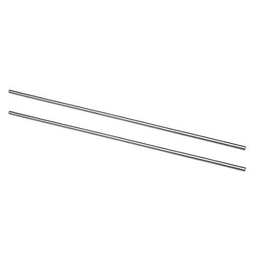 SourcingMap Rundstange, HSS-Stahl, Drehmaschone, massiver Schaft, 200 mm Länge