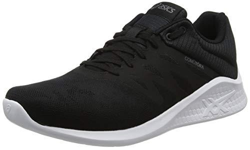Asics Comutora MX, Zapatillas de Running Mujer, Negro (Black/Black 001), 36 EU