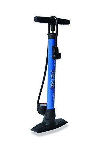XLC Unisex– Erwachsene Luftpumpe und Standpumpe Delta PU-S04, Blau, One Size