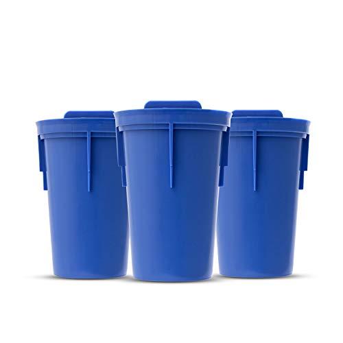 Blue 20 Ounce ITSATRONIC #N//A Santevia Water Systems Tritan Bottle