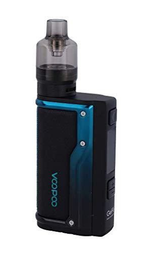VOOPOO Argus GT E-Zigaretten Set | VW, Smart, TC (Ni, Ti, SS, TCR-M1/M2/M3) | Betrieb über 18650er Akkuzellen | max. 160 Watt (schwarz-blau)
