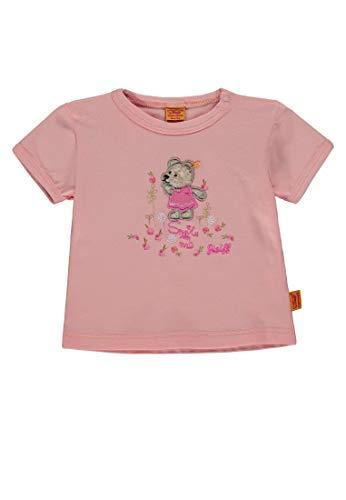 Steiff Mädchen 1/4 Arm T-Shirt, Pink (Peach Melba Rose 2163), 68