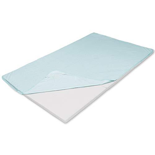 防水シーツ 敷きパッド ファミリー 200×210 スカイブルー おねしょシーツ 介護シーツ 防水パッド おねしょ対策 防水