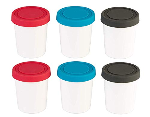 StarPack Portion Control Mini Ice Cream Freezer Containers -...