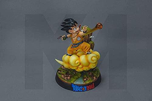 Dragon Ball Anime Personajes voltereta Nube pequeño Goku Figuras de acción Estatua estatuilla Modelo muñeca Coleccionable Regalos de cumpleaños