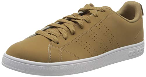 adidas Vs Advantage Clean, Scarpe da Tennis Uomo, Marrone (Cardbo/Cardbo/Ftwwht Cardbo/Cardbo/Ftwwht), 42 2/3 EU