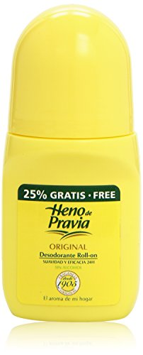 Heno de Pravia - Desodorante roll-on, 50 ml
