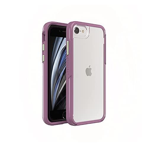 LifeProof per Apple iPhone SE (2nd Gen)/8/7, Custodia Sottile e Trasparente Resistente a Cadute, Gamma See, Emoceanal - Trasparente/Viola